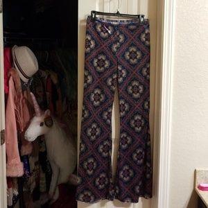 Sexy velour pants